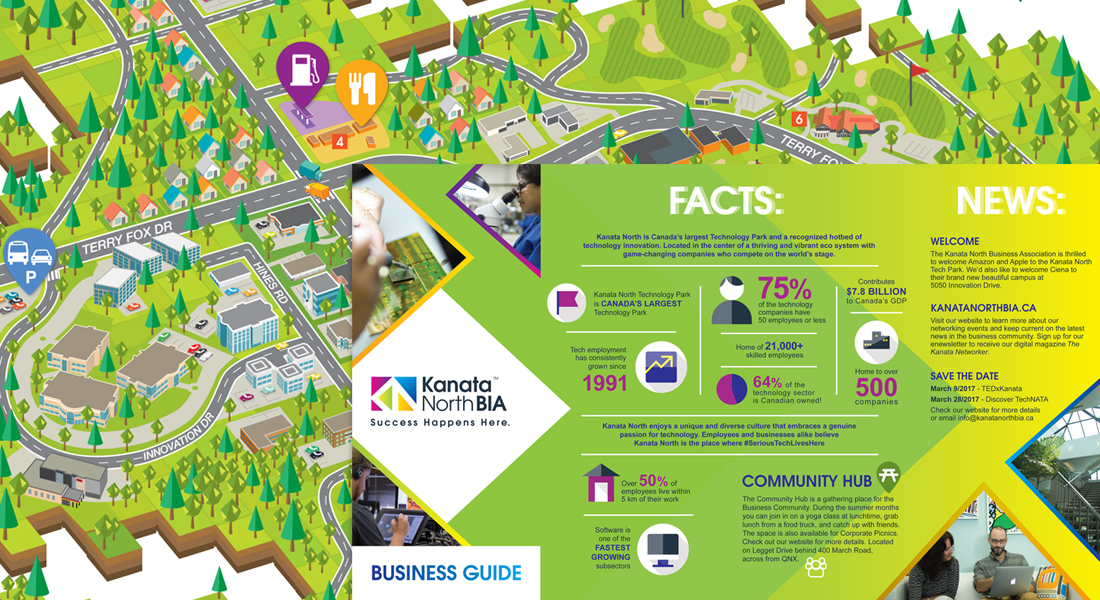 Kanata North BIA Graphic Design and Illustration Bytown Group